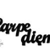 wieszak na ubrania Carpe diem