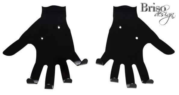 Wieszak na ubrania dłonie
