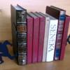 podpórki do książek pośćig