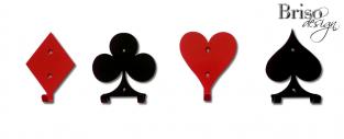 wieszak na ubrania poker