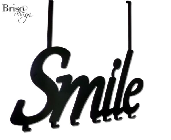 """Wieszak na ubrania """"Smile"""" montowany na drzwi"""