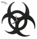 zegar ścienny Biohazard
