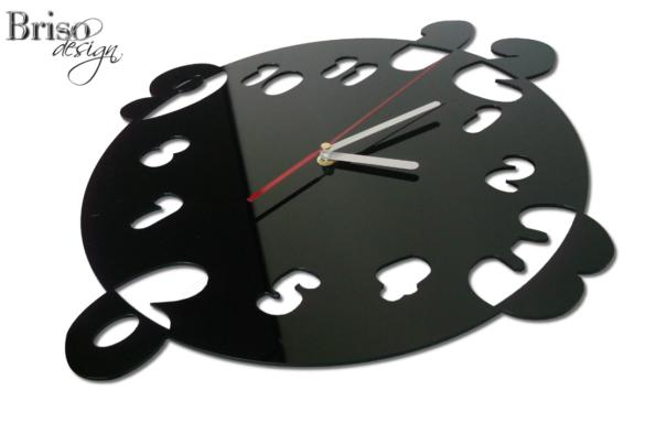 zegar ścienny numbers