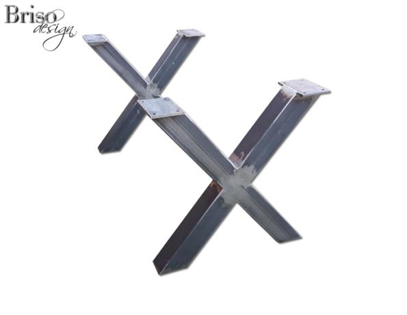 """Nogi do stołu """"X"""" stal konstrukcyjna"""